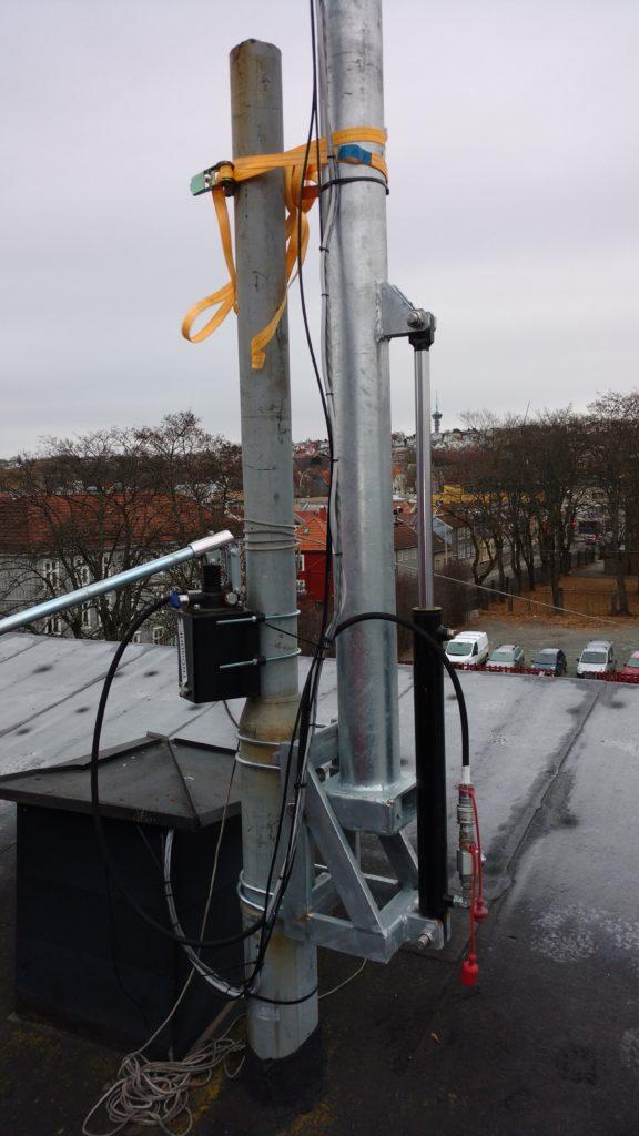 Securing the antenna park for Ylva – Akademisk Radioklubb